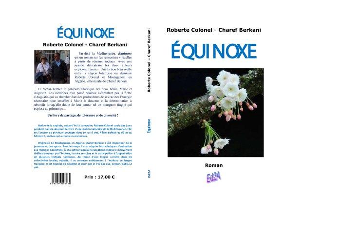 Ed2A Couverture Equinoxe Roberte Colonel et Charef Berkani